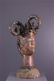 Masque africainEjagham Crest Mask