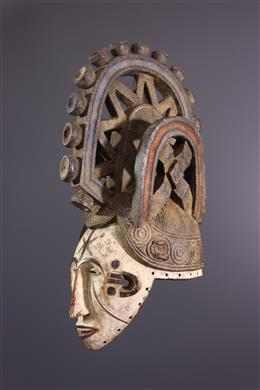 African art - Igbo Ikorodo helmet mask