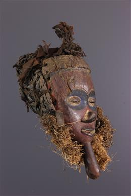 Yaka polychrome face mask
