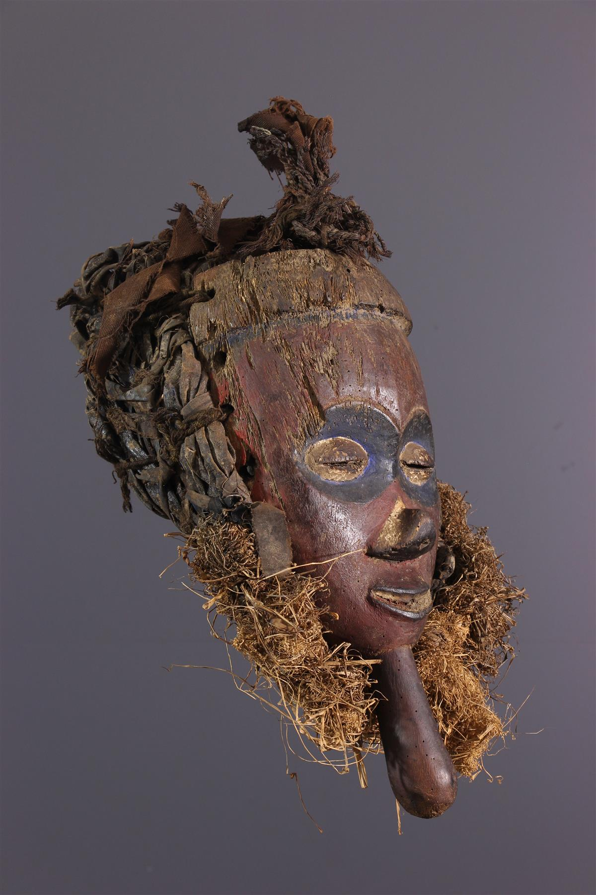 Yaka Mask - African art