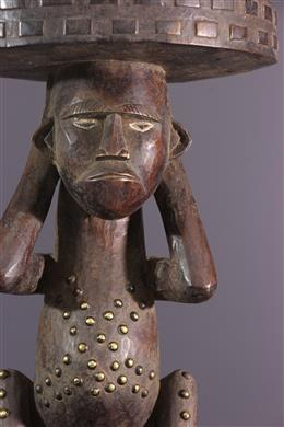 African art - Zande caryatid stool