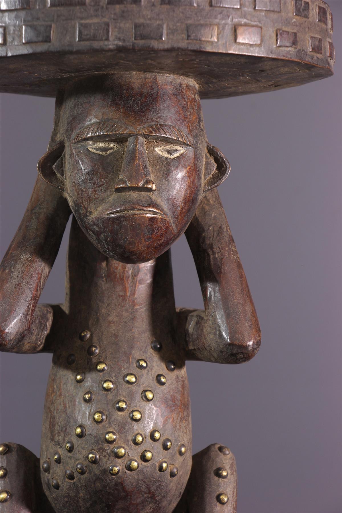 Zande stool - African art