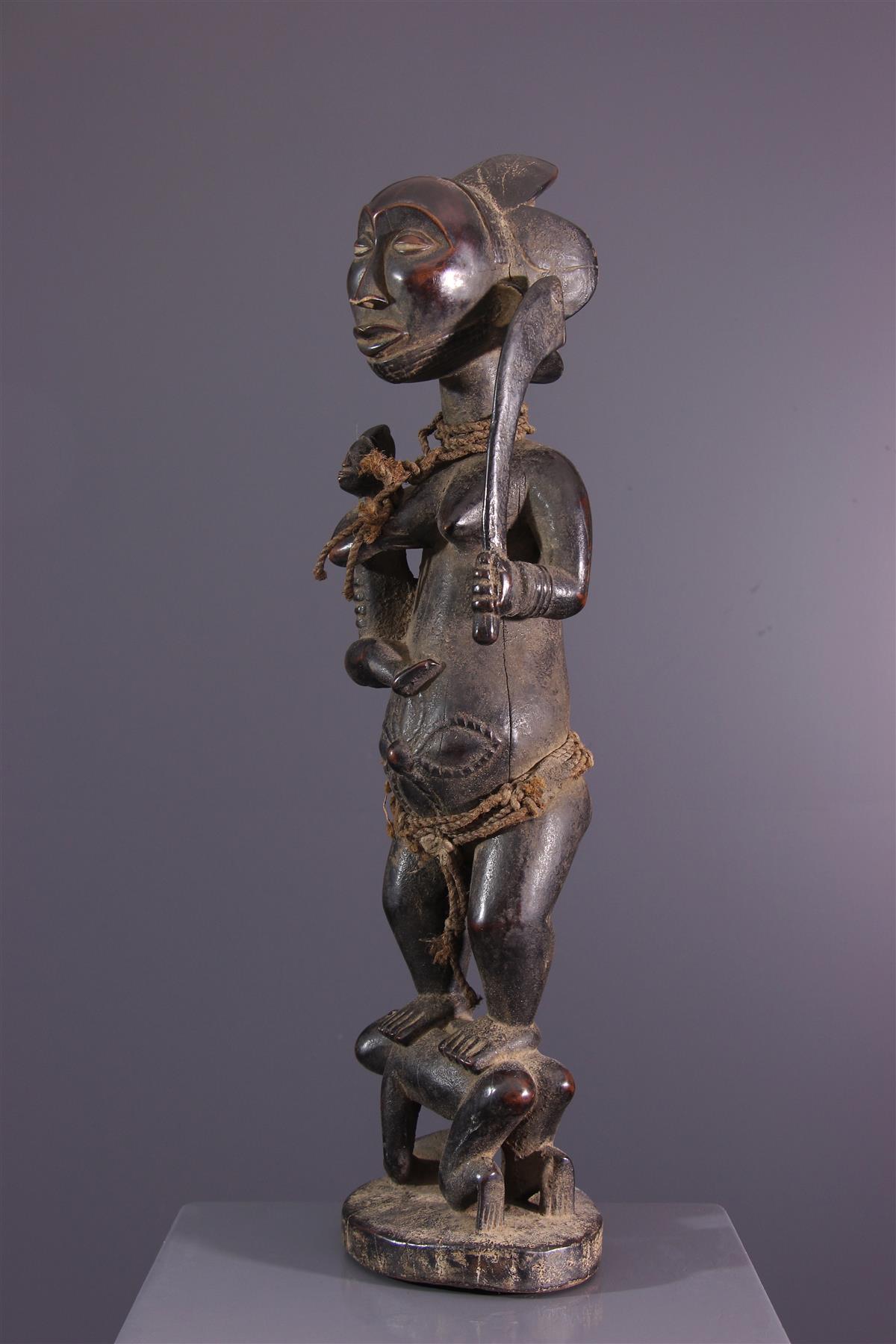 Statue Luba Hemba - African art