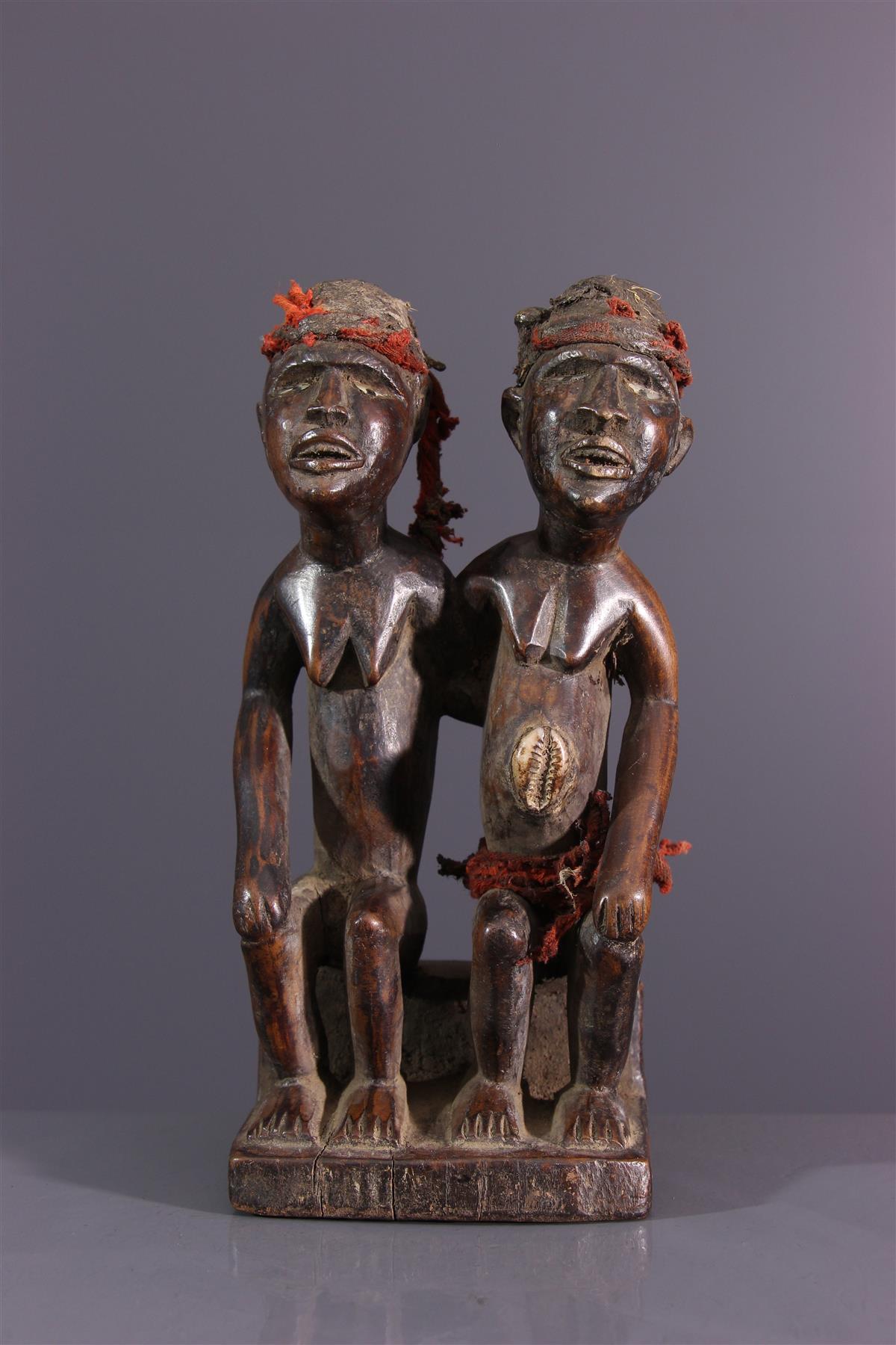 Kongo figure - African art