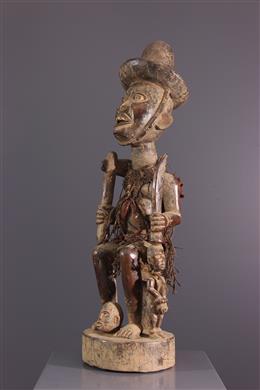 African art - Statue of Congo