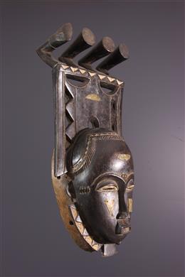 Yohouré Mask Kokolé kwain du Dja