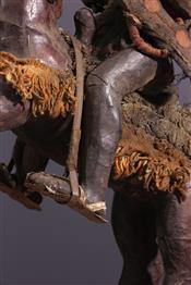 Soufflets de forgesBamoun statue