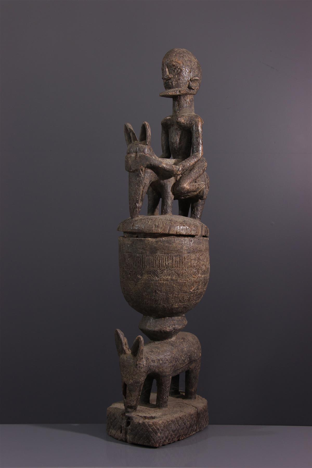 Dogon Cup - African art