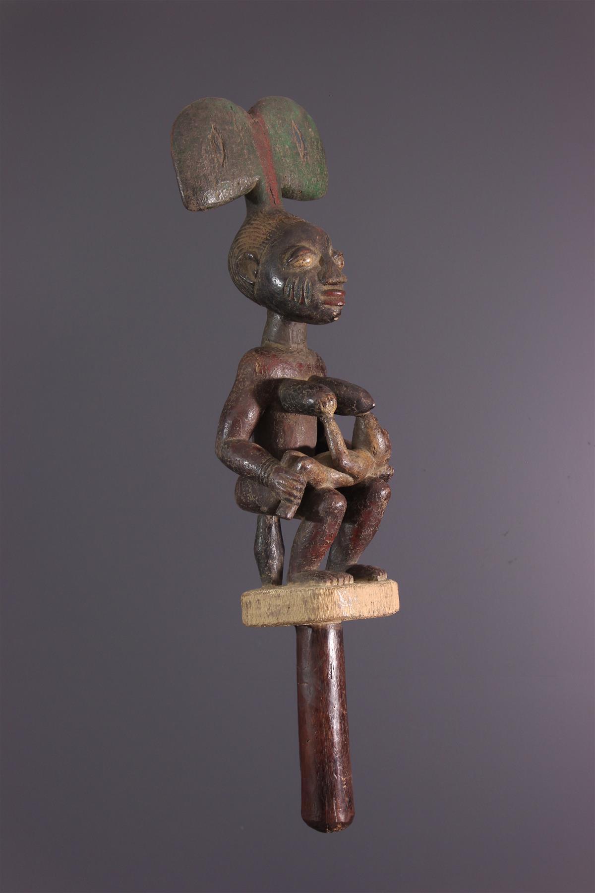 Yorouba Scepter - African art