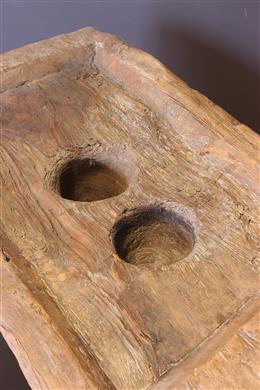Wooden Log / Congo Kasai Mortar