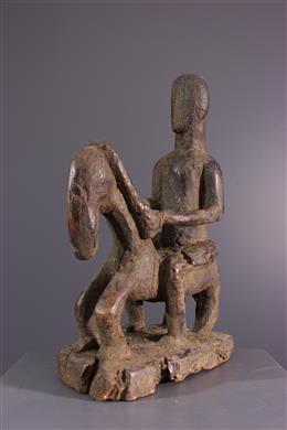 African art - Dogon rider statuette