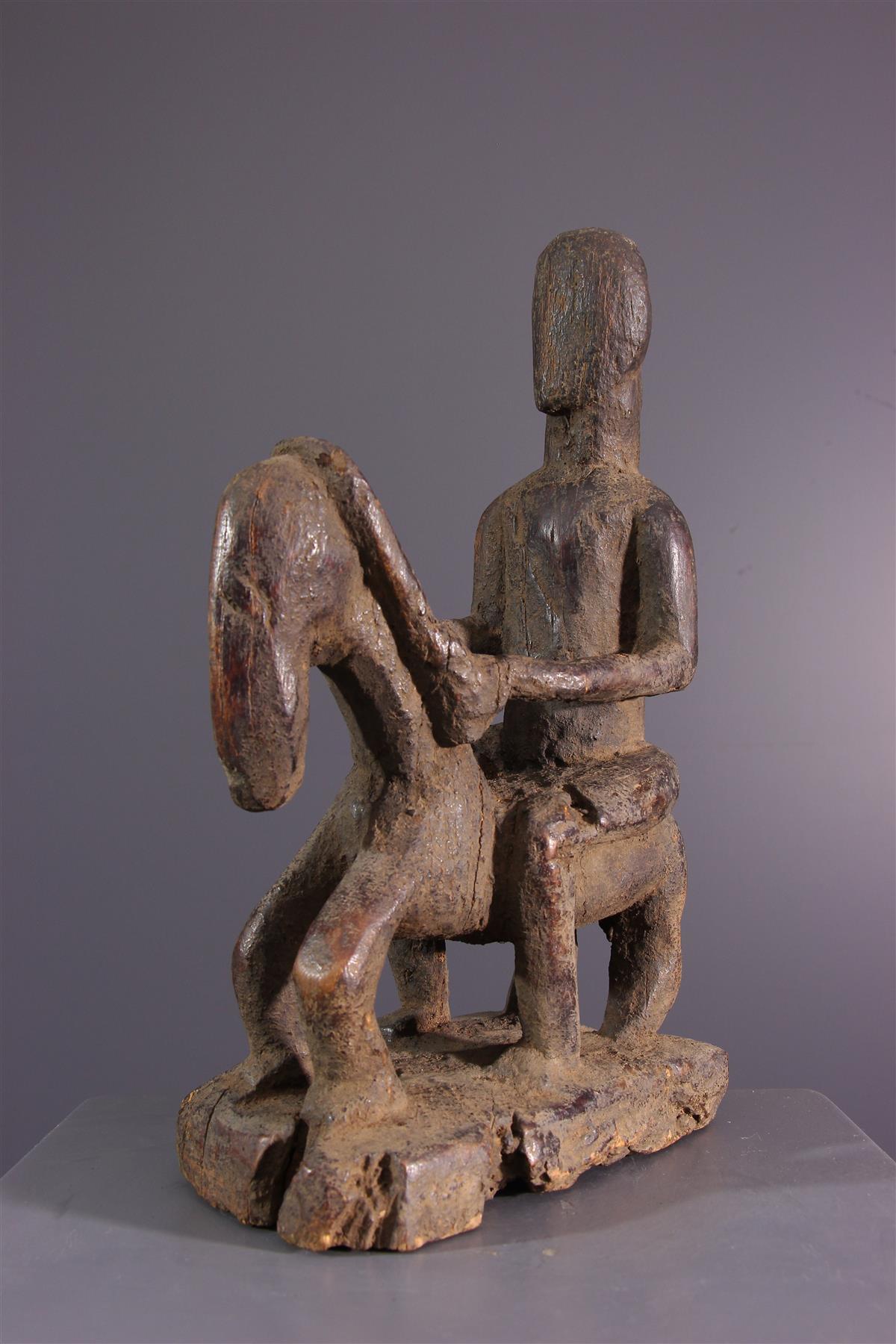 Dogon Rider - African art