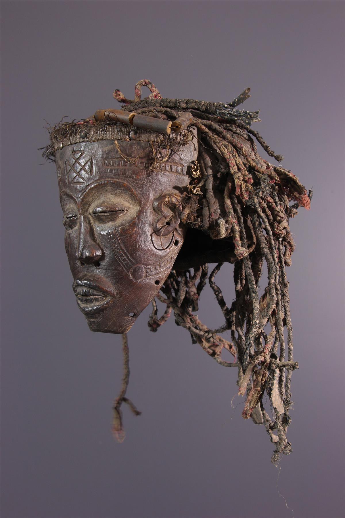 Tchokwe Mask - African art