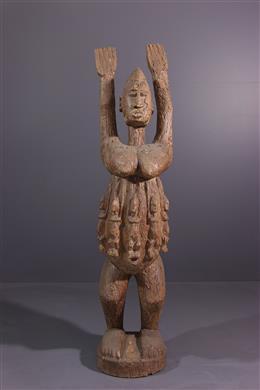 African art - Dogon Tellem Statue