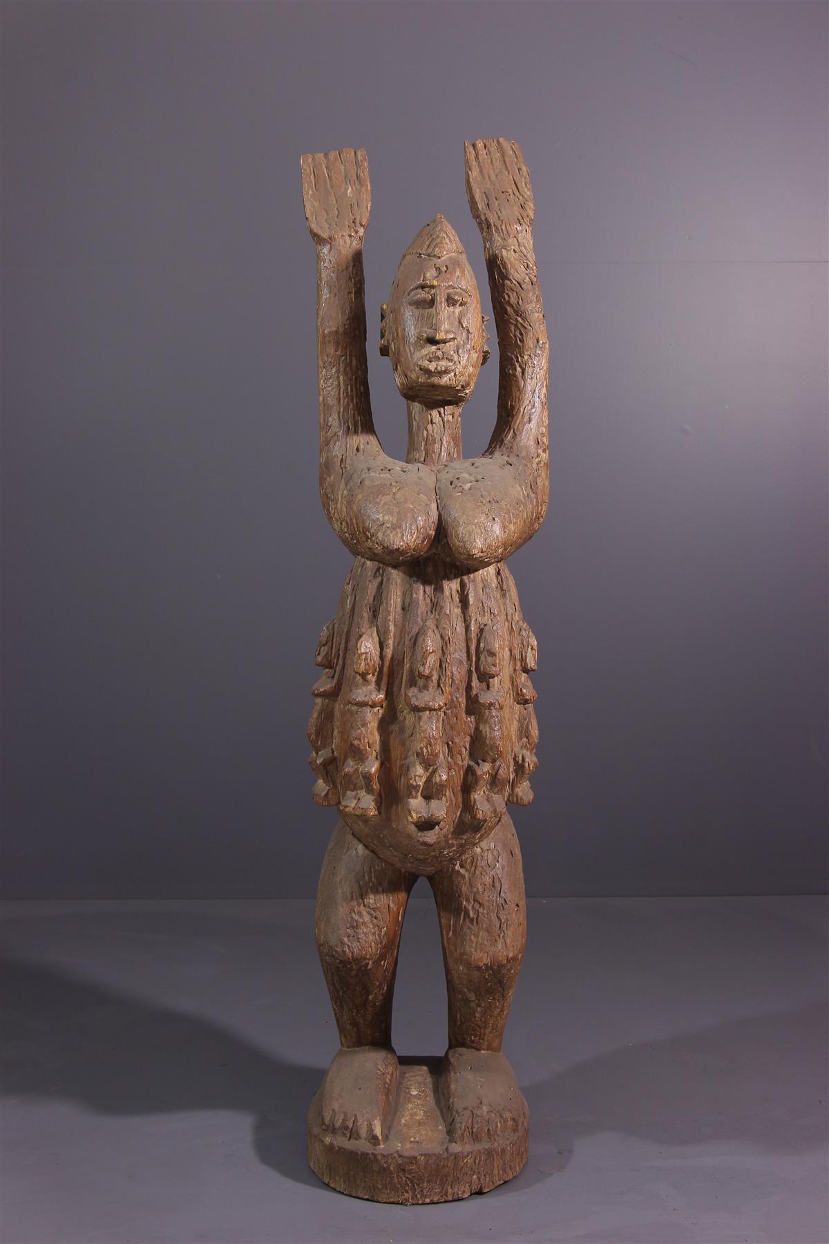 Dogon figure - African art