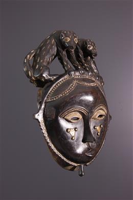 Baoulé Mask / Yaouré Yohoure