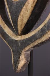 Masque africainKwélé Mask