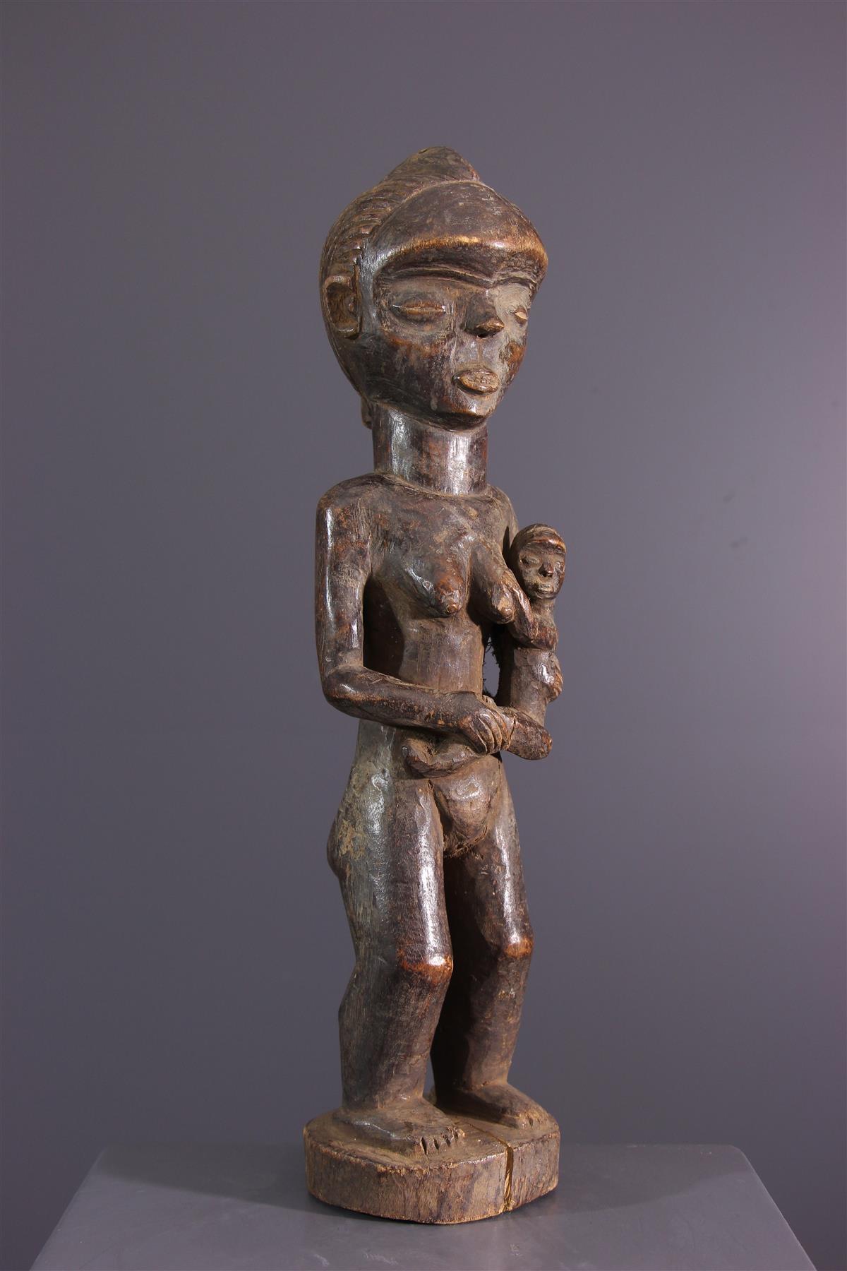 Mbala figure - African art