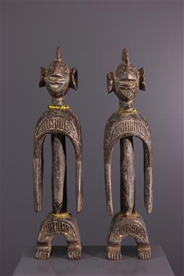 Couple of statuettes Chamba / Wurkun