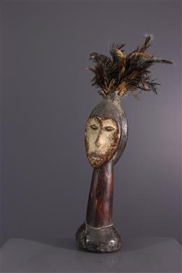 African art - Lega janiform figurines