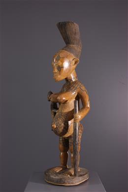 Ancestor statue Mangbetu Beli