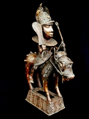 Benin horse rider