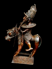CavalierBenin horse rider