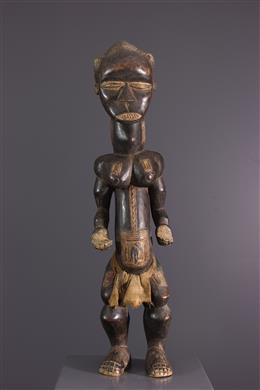Male statue Dan Ivory Coast
