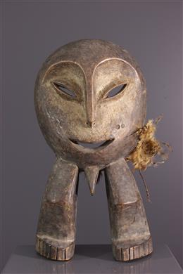 African art - Statuette Lega initiation mask