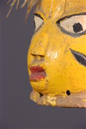 Masque africainMasque articulated