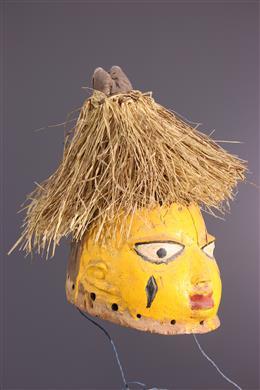 African art - Gelede crest mask