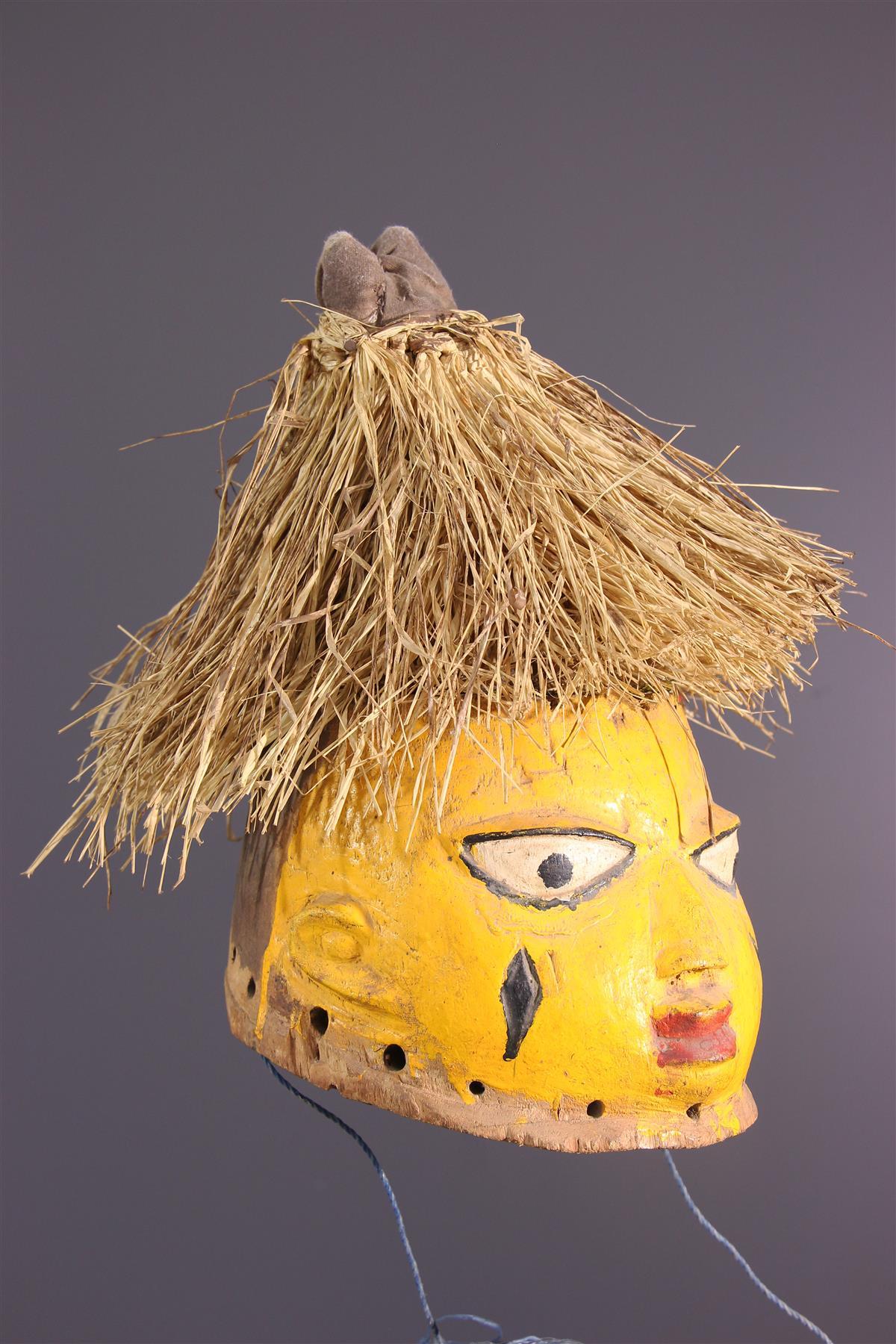 Masque articulated - African art
