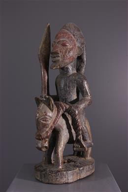 African art - Cavalier Yoruba Sango