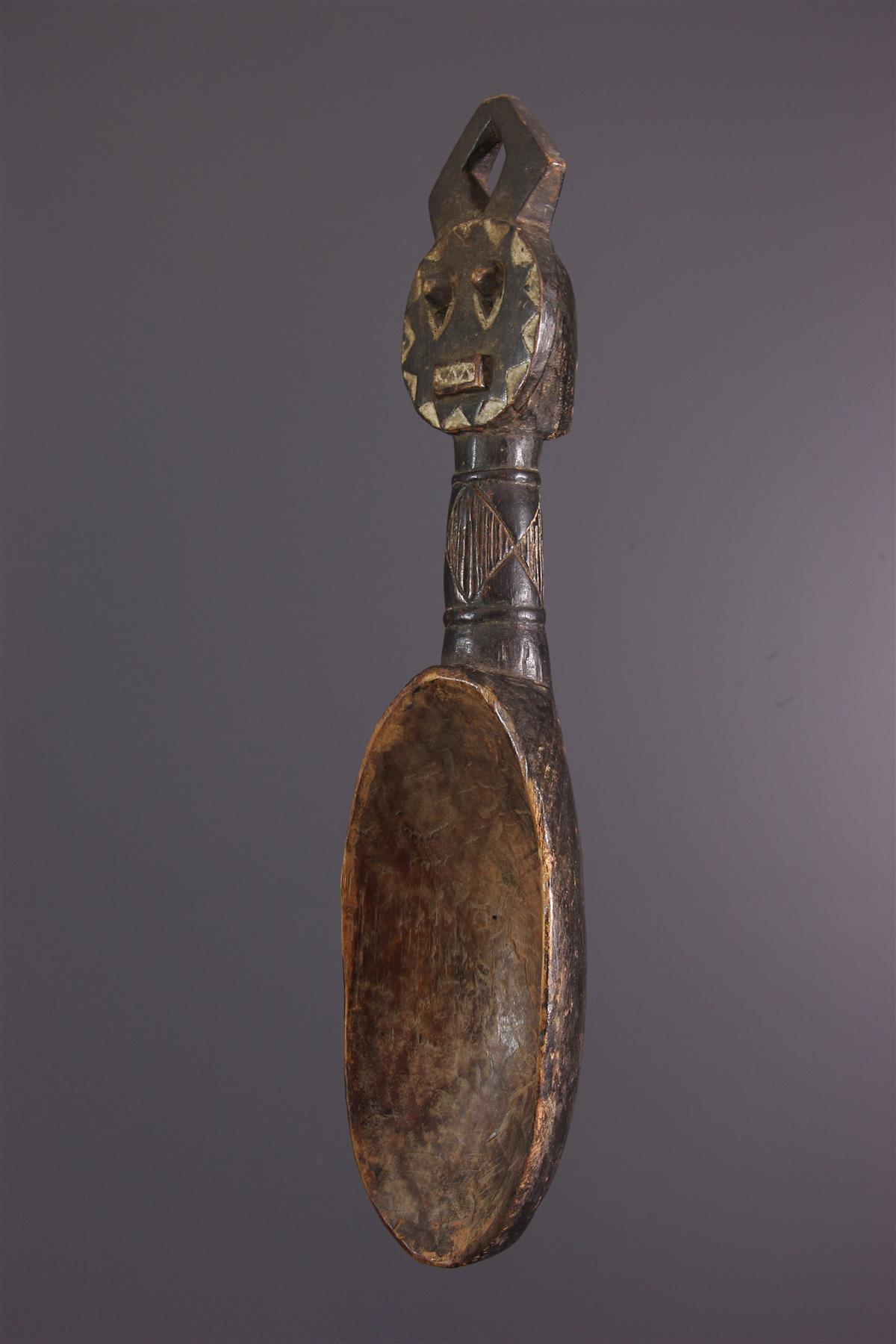 Spoon Baule - African art