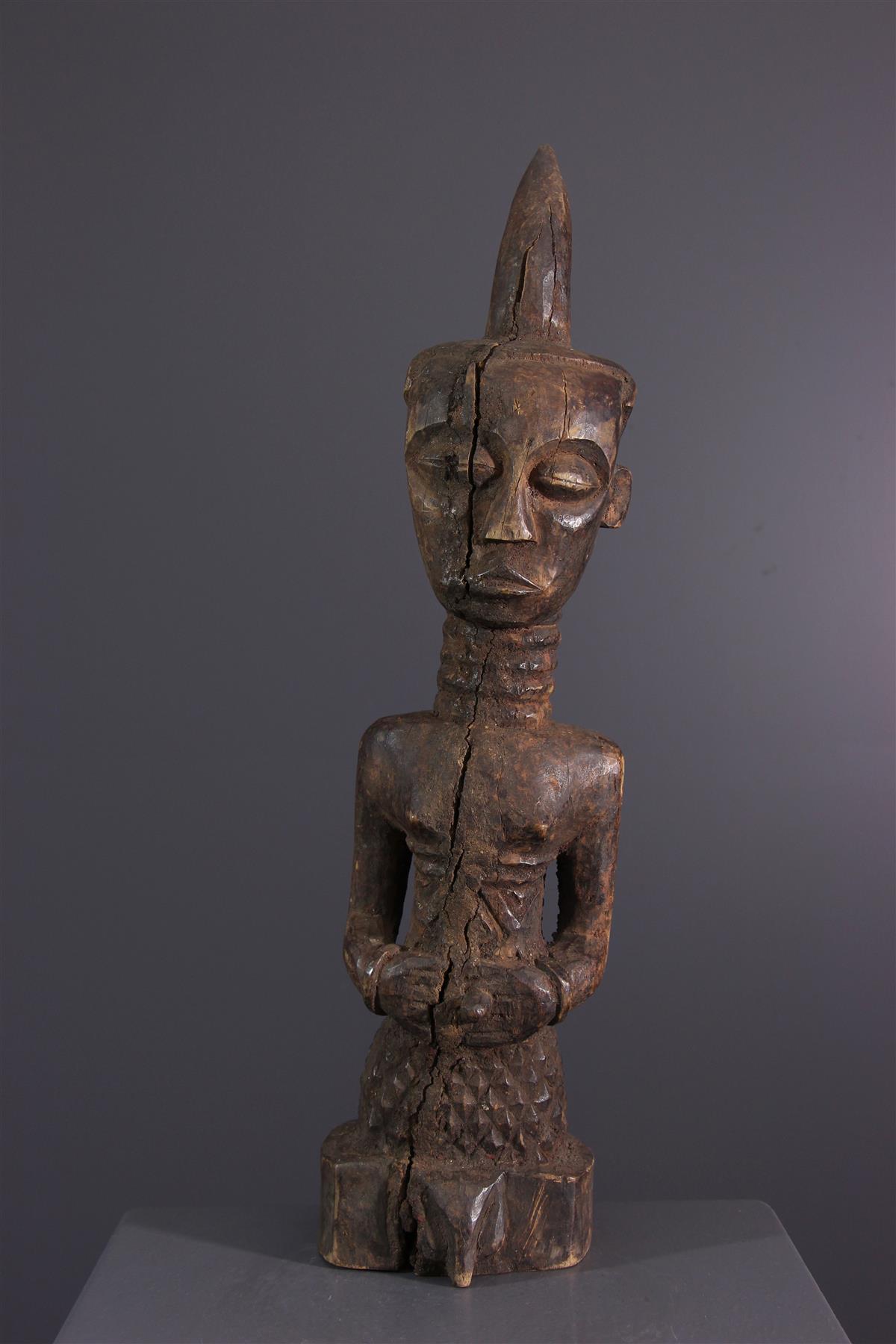 Statue Ndengesé - African art