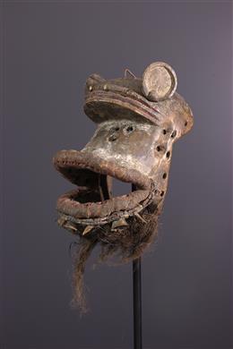 Zoomorphic mask Wé, Guéré