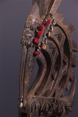 African art - Bambara Ci Wara Kun Mask