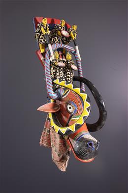 African art - Bozo Puppet Mask