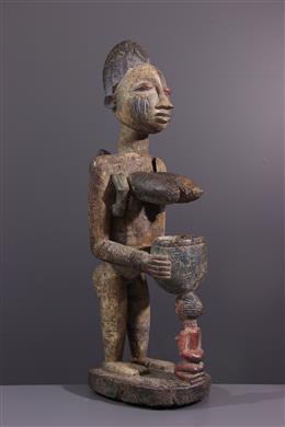 African art - Female figure Yoruba