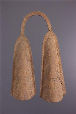 Double Bamileke Ritual Bell