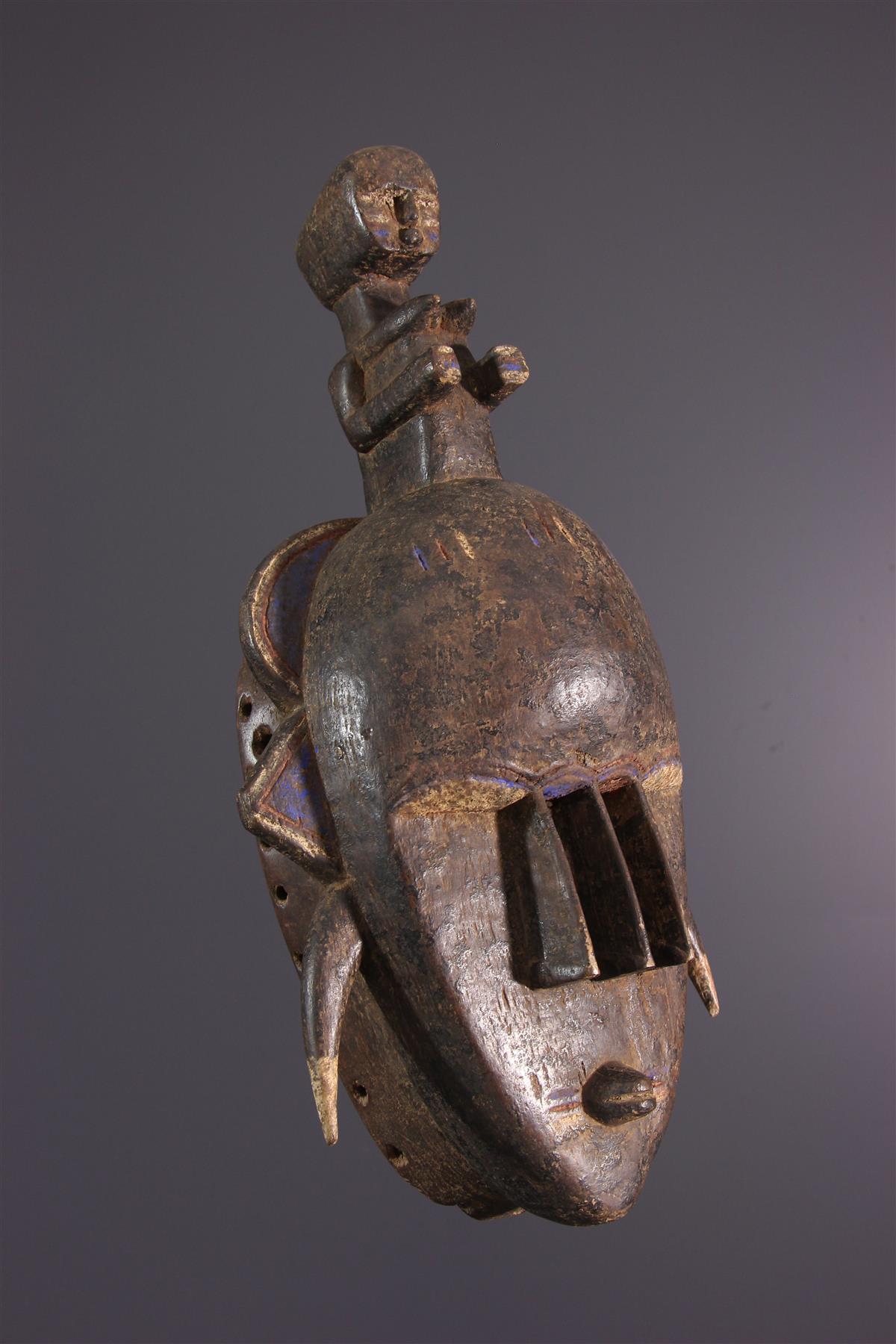 Djimini Mask - African art