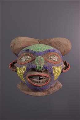 Bamoun beaded mask