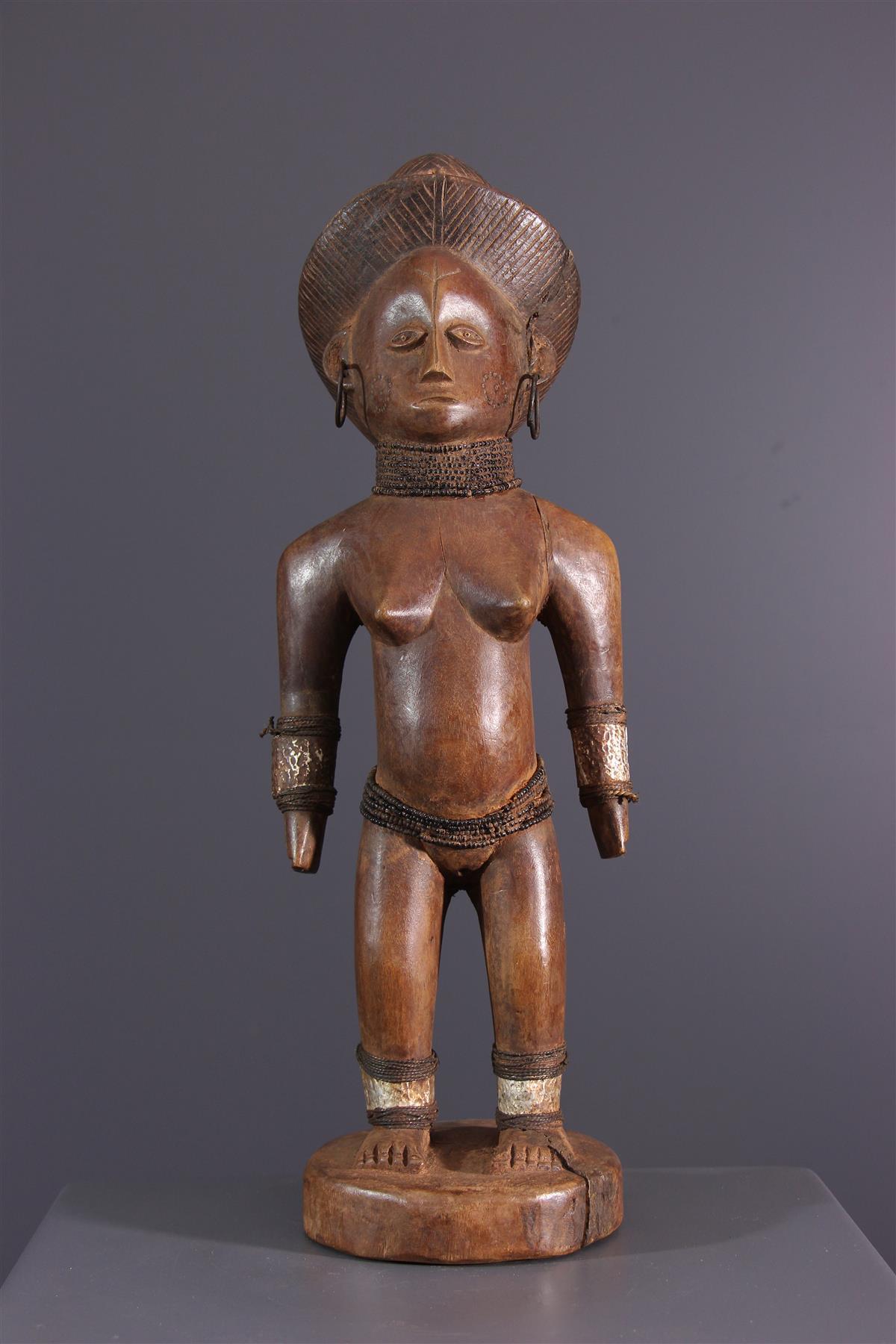 Statue OviMbundu - African art