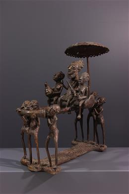 Bronze sculpture Bamoun