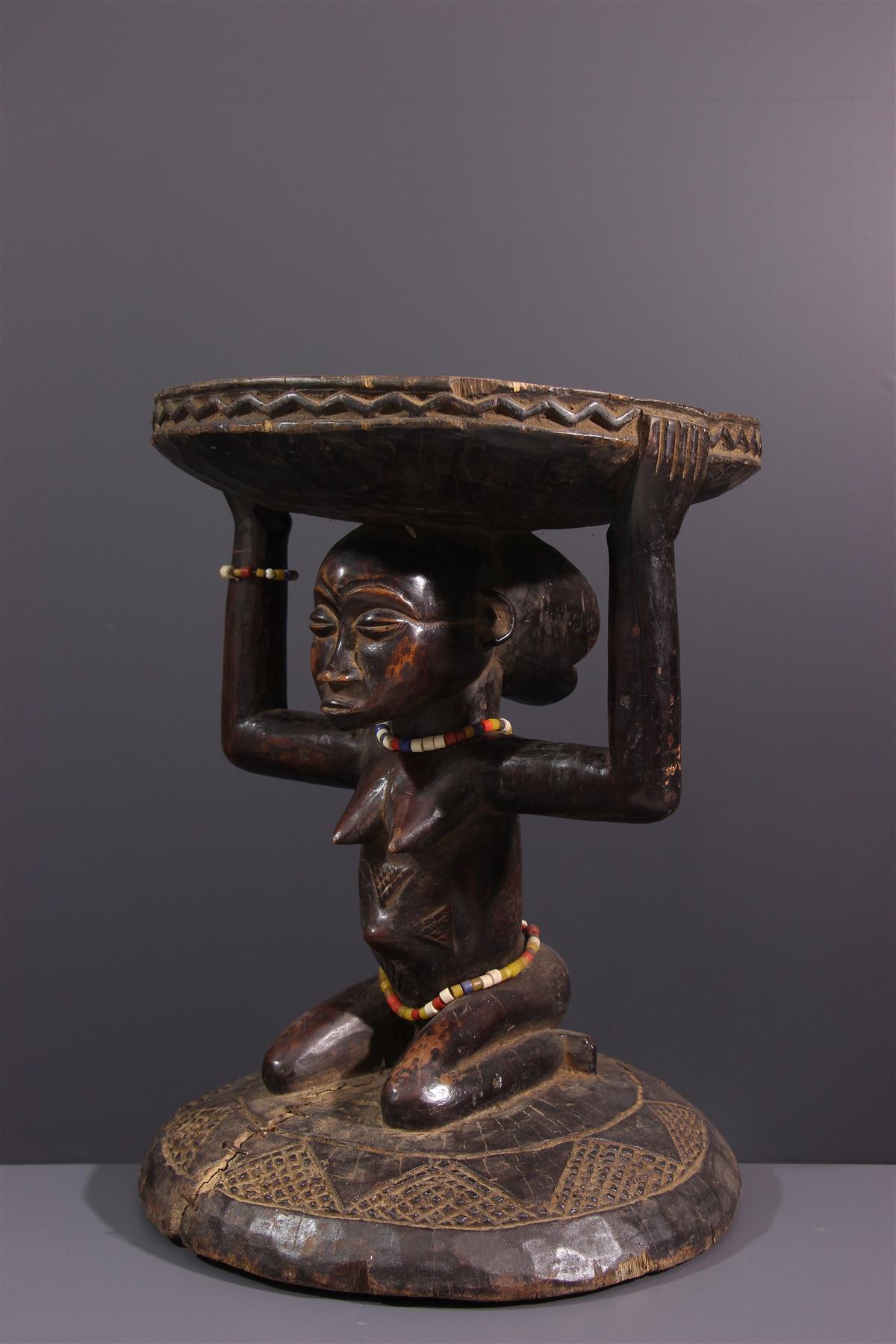 Kipona Tabouret - African art