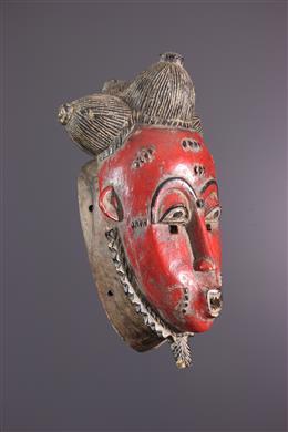Baoulé / Yahoure Mask