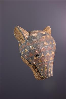 African art - Masque Bamana Lion