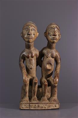 Nkisi Kongo Yombé couple figures