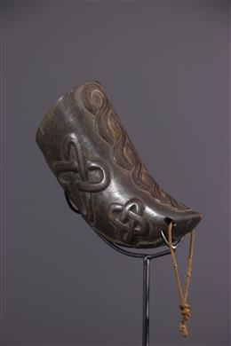 African art - Kuba Drinking Horn