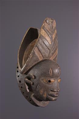 African art - Masque facial Yoruba